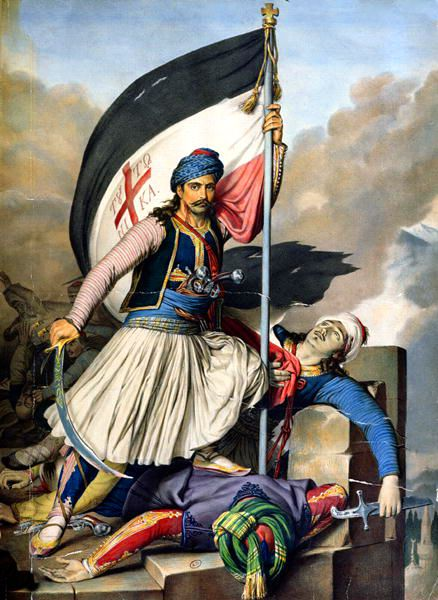 Uprising of Salona 1821″, by Louis Dupré