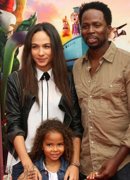 Harold Perrineau's Lovely Daughters, Aurora and Wynter.