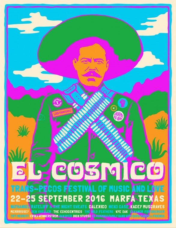 Trans-Pecos Festival of Music + Love - September 22-25, 2016 in Marfa, Texas | El Cosmico | Marfa, TX