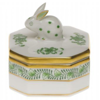 Herend Petite Octagonal Box http://www.continentaltablesettings.com/
