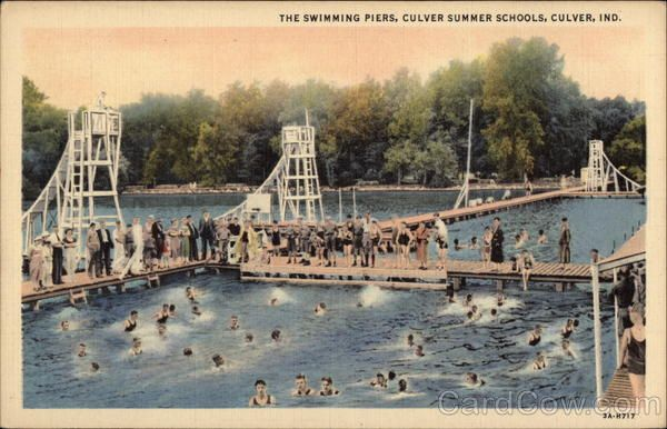 Culver Summer Schools - The Swimming Piers ♦ Culver, Indiana