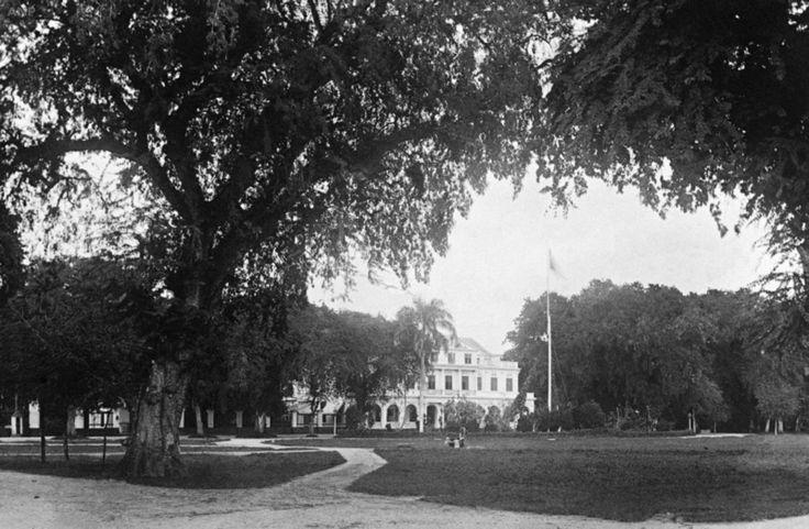 Paramaribo-suriname-buitensocieteit-gouvernementsplein - Anp Archief