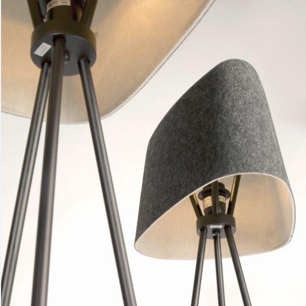 Tom Dixon Felt Stehleuchte Lightingdeluxe De Lamp Floor Lamp Floor Lamp Design