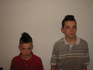An interview with my sons on why they have mohawks