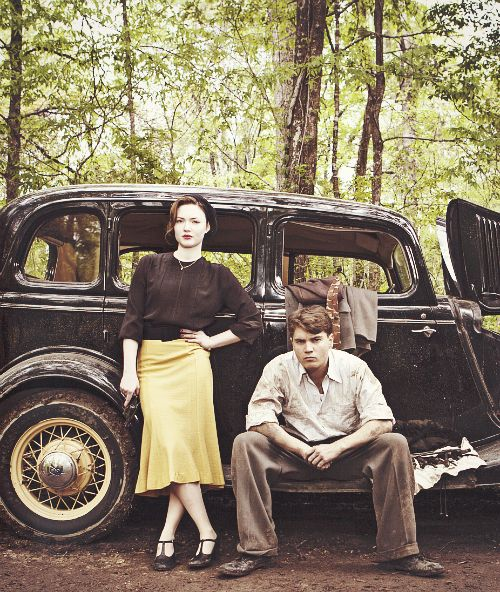 Holliday Grainger + Emile Hirsch -  Bonnie and Clyde: Dead and Alive (TV mini-series)