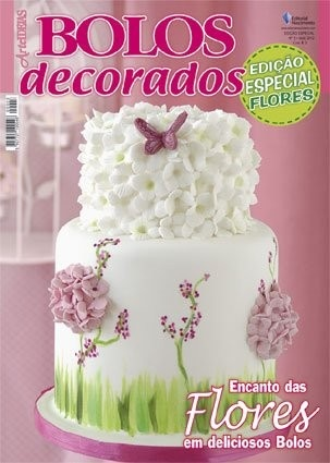 Capa de Revista Bolos Decorados
