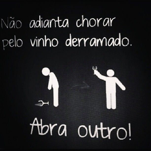 Não Adianta Chorar Frase Para Facebook Wine Lovers
