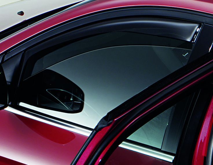 Ford Focus - Deflettori finestrino laterale per porte anteriori e posteriori; grigio chiaro o grigio scuro.