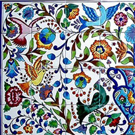 Mosaic tile murals for sale of 6 x6 tiles for Custom mosaic tile mural
