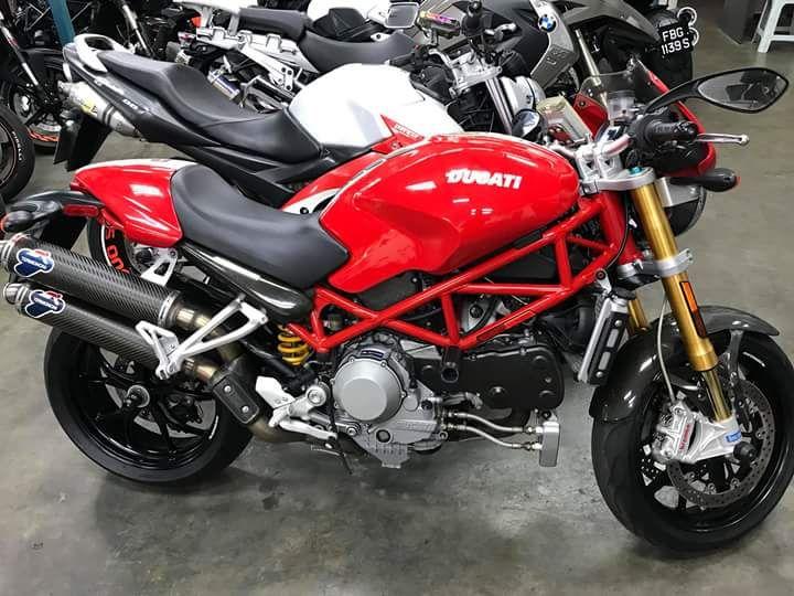 BURSA MOGE BEKAS : Jual Ducati S4RS Kondisi Istimewa.. 145.000.000 sampe indo..