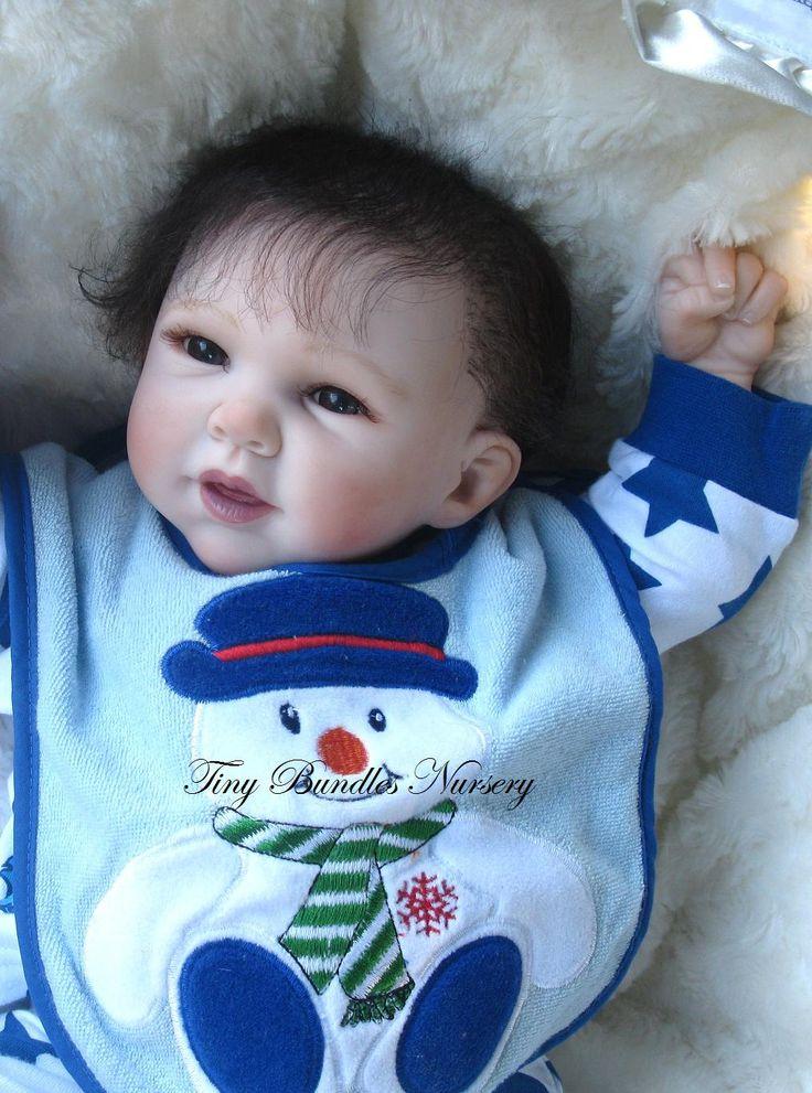Raine by Michelle Fagan reborn by Tiny Bundles Nursery