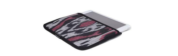 Чехол для Apple iPad Mini, красный с серым в черной окантовке