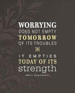 Do not worry.