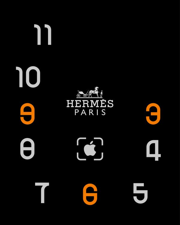 Hermes series2 ver.2 - hermes,paris,watch face
