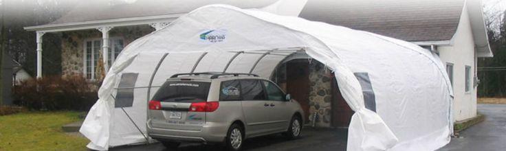 Abris Quebec - Location d'abri d'auto, vente, installation, entreposage et autres services.