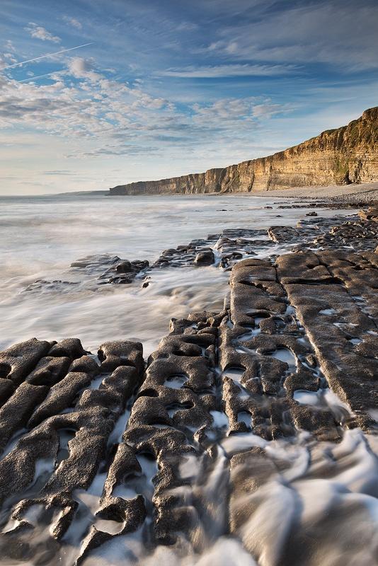 The Glamorgan Heritage Coast - Nash Point, Wales; photo by Adam Burton