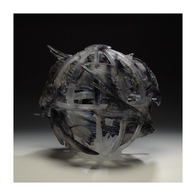 Pandora Takeshi Fukunishi Made This Piece By Kiln Casting And Cold Working Methods Such As Carving And Polishing Sculpture Pandora Glass Japanese Artists