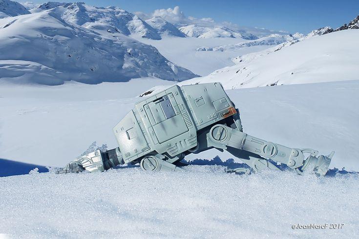 Star wars episode V / scene AT-AT crashed