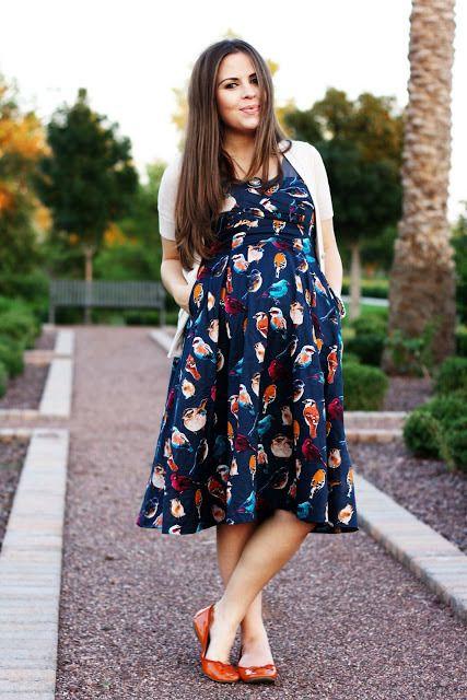 vestido lindo de gravidas
