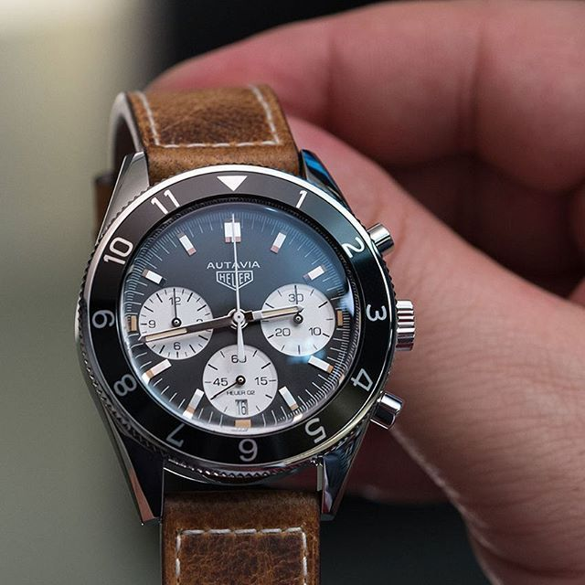 Editor's note: The Autavia is one of the most storied chronographs in history, and its return to form at Baselworld 2017 was highly anticipated. Thankfully for fans, the reissue did not disappoint — the new model not only looked the part but also delivered a serious movement upgrade. We can't wa...