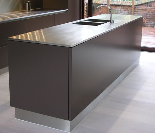 Kitchen Worktops Pros And Cons: 16 Best Custom Stainless Steel Countertops Images On