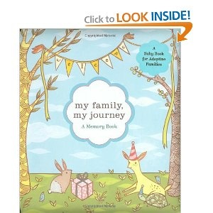Adoption baby book: Adoption Families, Adoption Baby, Memories Books, Adoption Stuff, Gifts Ideas, My Families, Life Books, Baby Books, Adoption Books
