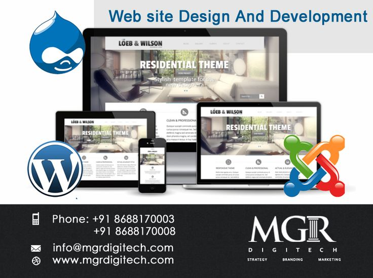 Web Design & Web Development : We understand all aspects of internet strategy but focus on design and development. MGR DIGITECH has the experience and knowledge in custom website design and internet  marketing to get your website going in the right direction.  Contact us today Phone: +91 8688170003, +91 8688170008 Email-Id:info@mgrdigitech.com Website:www.mgrdigitech.com  #MGR, #MGRDigitech, #Digital,#OnlineSales, #DigitalSolutions,#WebDesignandDevelopment