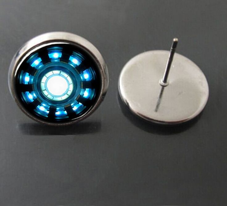 Iron Man Stud Earings //Price: $5.45 & FREE Shipping //     #hashtag3