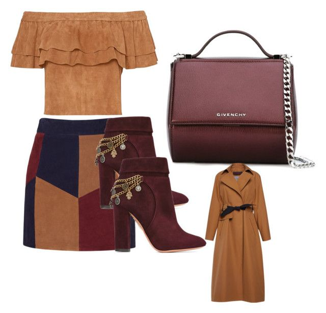 """Stil! YES! YES! YES!"" by lana-653 ❤ liked on Polyvore featuring LaMarque, Aquazzura, Givenchy, Martin Grant, Boots, tops, skirts and bags"