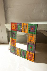 Creative Company | Just Mosaics: Quick 'n easy masculine mirror