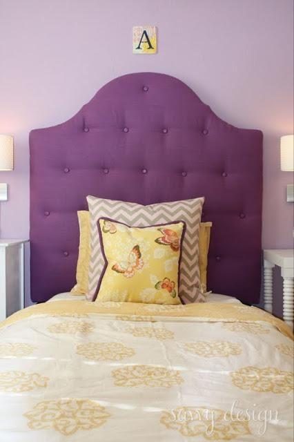 diy upholstered tuffed headboard diy home furniture ideen kopfteilschlafzimmer - Do It Yourself Kinder Kopfteil Ideen