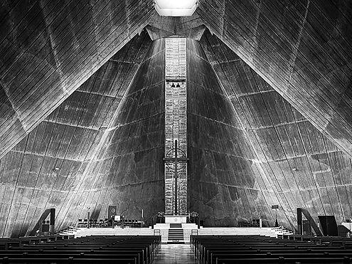 Cathédrale St-Mary  / 1964 / Kenzo Tange (Japon) / Tokyo, Japon