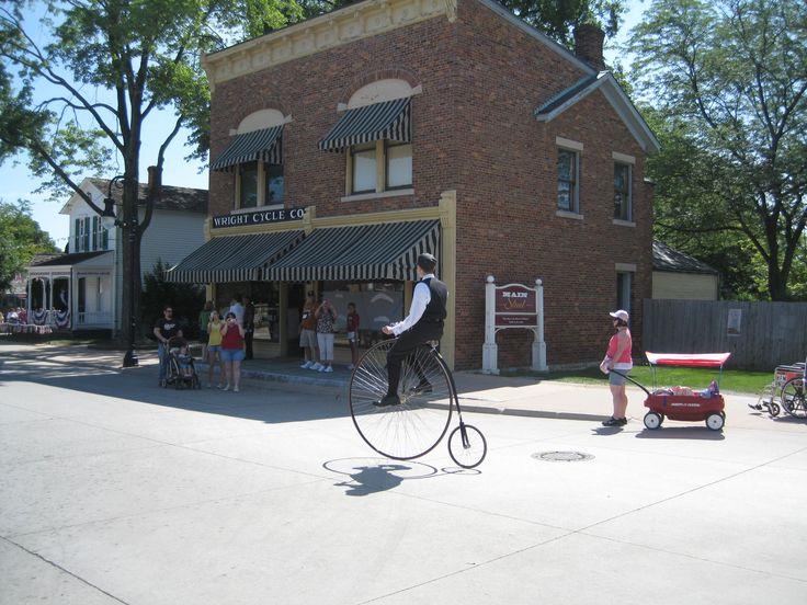 Greenfield Village - brings back great memories of school days spent exploring history in a fun way