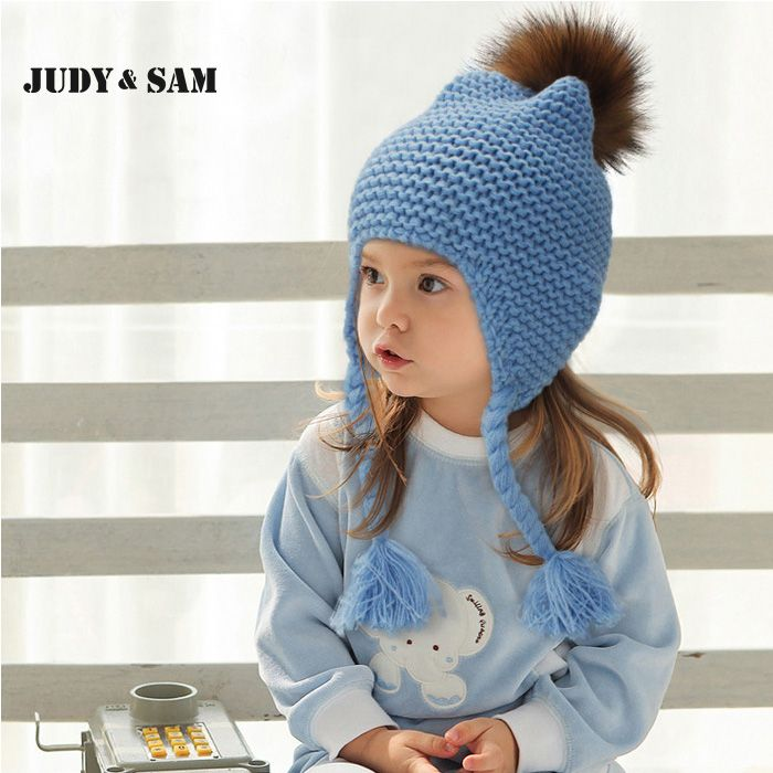 All For Children Clothes Accessories Kids Casual Bomber Baby Hat Warm Knitted Brand Design Factory Made Cheap Cap With FurPom #>=#>=#>=#>=#> Click on the pin to check out discount price, color, size, shipping, etc. Save and like it!
