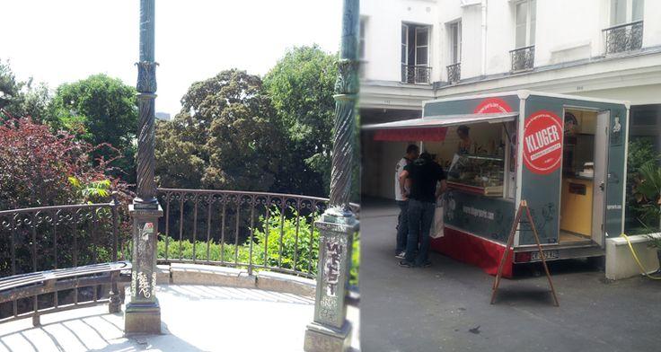Jogging du #jardindesplantes en passant par l'#ilesaintlouis et l'#iledelacite avant de déguster les fameuses #tartesKluger dans la cour du #bhv http://wp.me/p3t05M-Ap