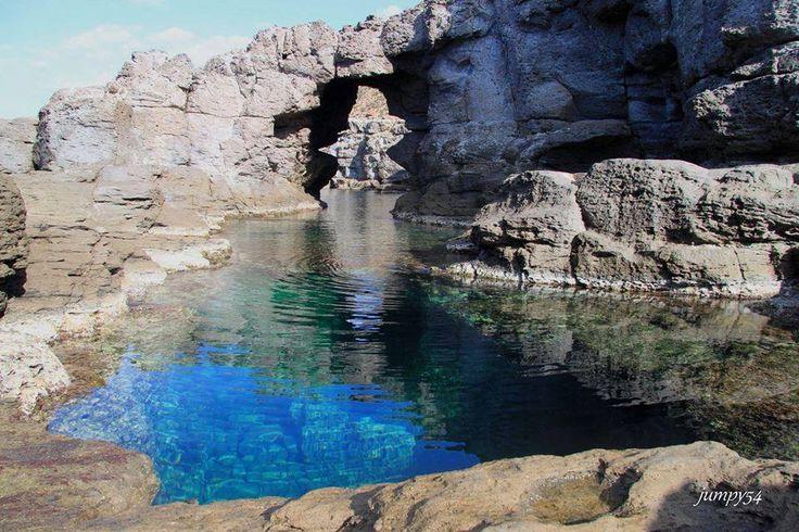 Sardegna-Is Praneddas - L'arco dei baci - Sant' Antioco
