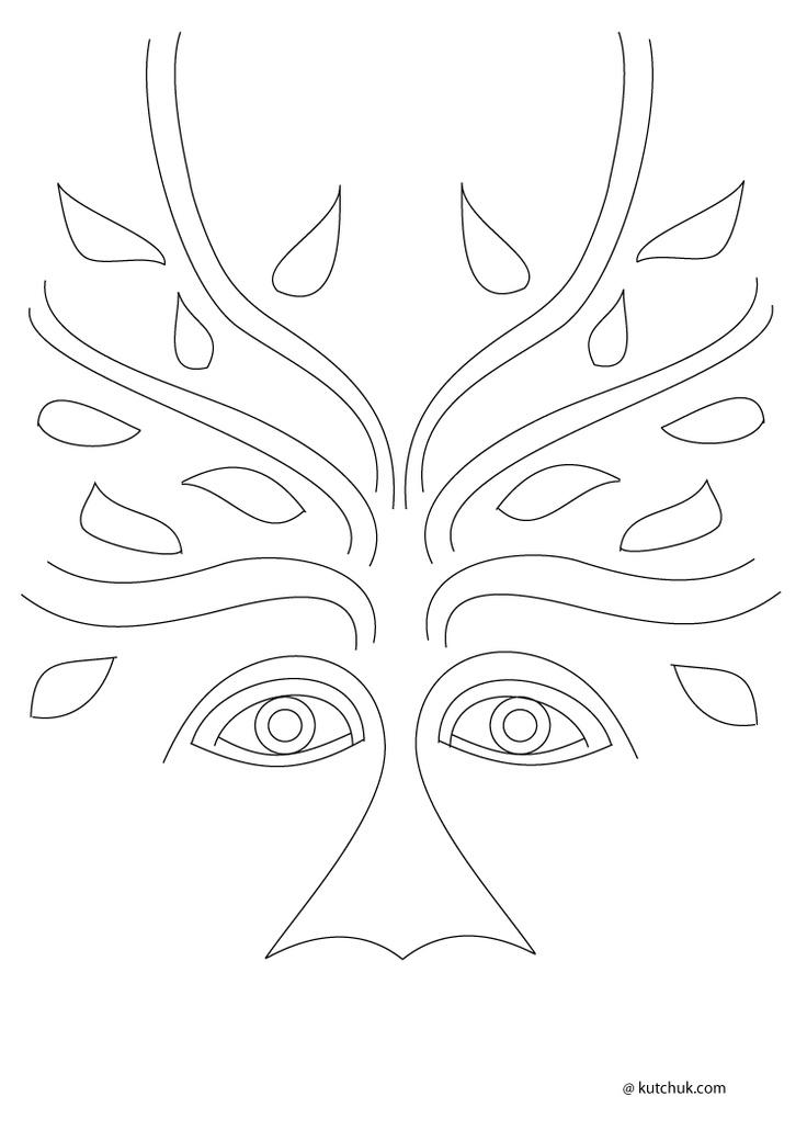 Malvorlage Gesicht