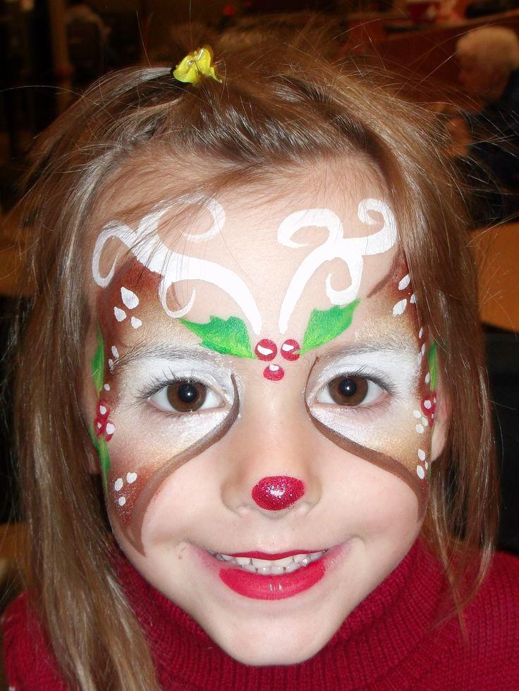 Green Arrow Cheek Face Paint