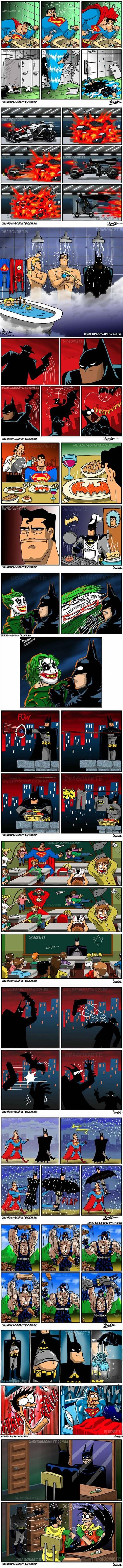 The Funniest Superhero Comics Collection (Part 1):