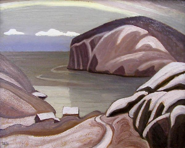 Lawren Harris, 'Port Caldwell, Lake Superior' at Mayberry Fine Art 12 x 15 (1923)