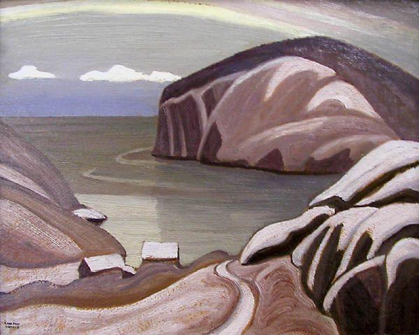 Lawren Harris, 'Port Caldwell, Lake Superior' at Mayberry Fine Art 12 x 15 (1923)