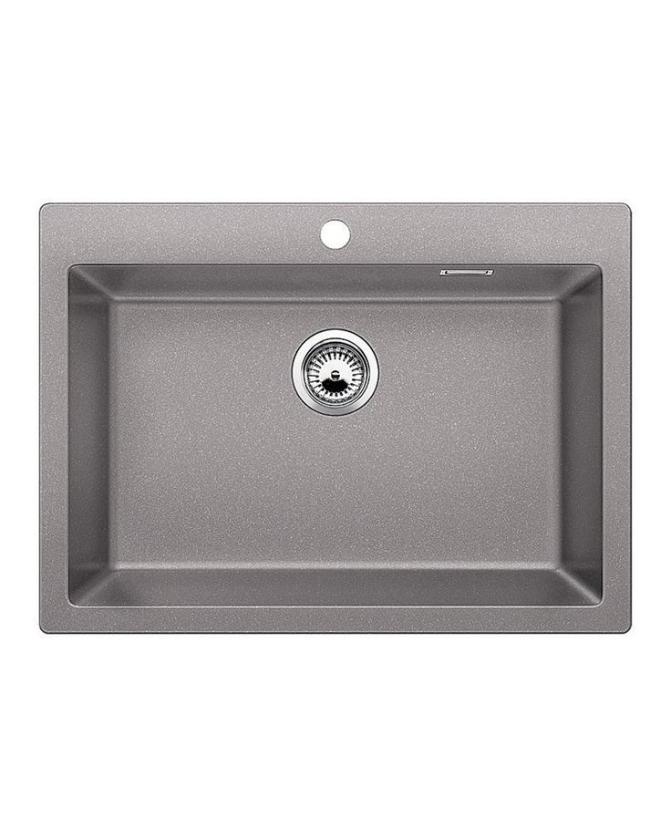 Sink Pleon 8 Alu Metallic A sink with a large trough that will allow you to easily wash in larger utensils such as a pan. It is combined with many accessories which will further facilitate your work.