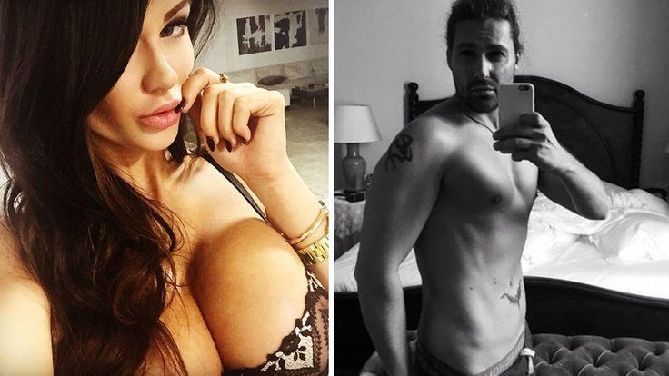 Porno-Escort-Frau Kendall Karson und Stargeiger David Garrett: Bizarr!