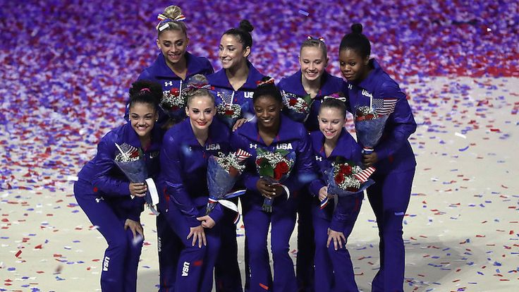 Meet Your Obscenely Strong 2016 U.S. Olympic Gymnastics Team