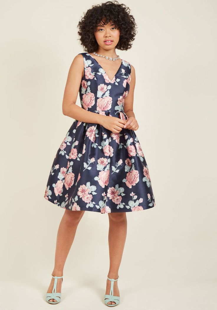 Chi Chi London Sweetly Celebrated Fit And Flare Dress