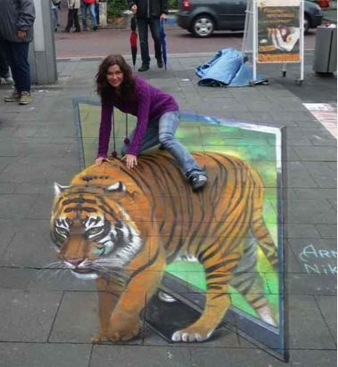 Street Painting at its Best | Mountify.com | Featured Images and Videos from the Web
