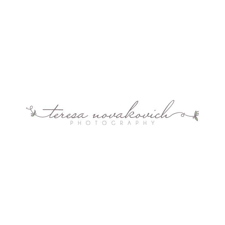 Hand drawn logo design | Photography Logo Designed by www.theautumnrabbit.com
