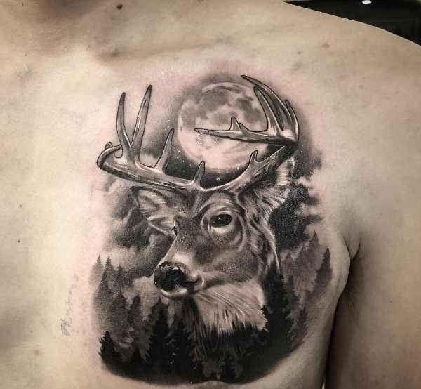 Tatuering Rådjur