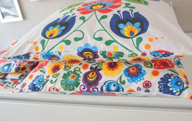 My Little Fabric: Mięciutkie poduchy polecają się na lato!