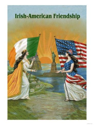 Irish-American Friendship- There's nothing quite like being an Irish-American! ;)
